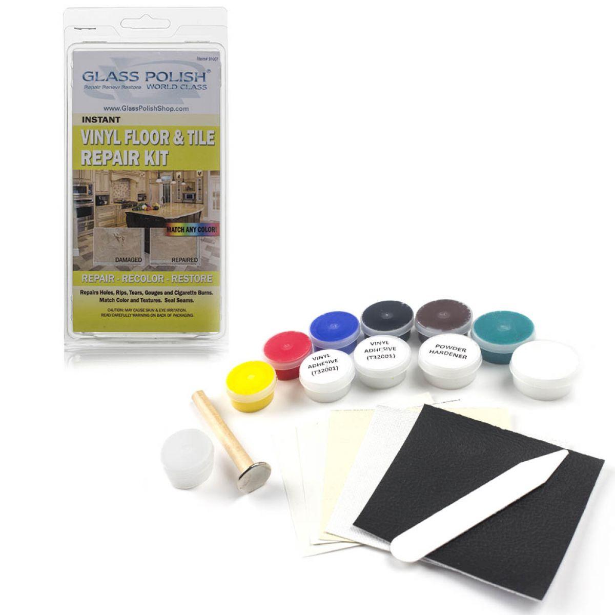 Glass Polish Vinyl Floor Repair Kit 91007
